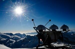 Strahlungsmessgerät für ARAD-Messnetz am Sonnblick-Observatorium der ZAMG