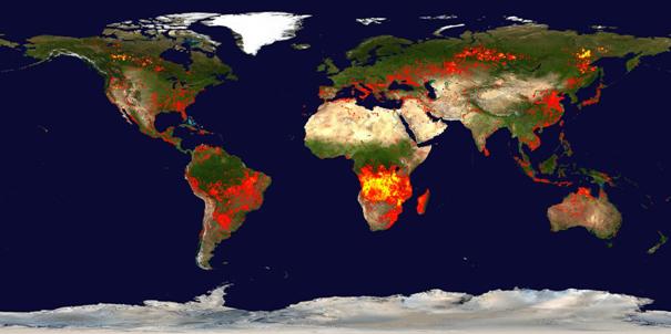 waldbrände portugal aktuell karte Waldbrände — ZAMG