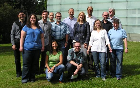 Gruppenfoto Fachabteilung Umweltmeteorologie