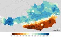 Dezember 2018 sehr mild und im Großteil Österreichs viel Niederschlag