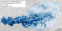 Flächendeckende Klimadaten für Österreich online