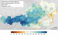 Jänner 2018: extrem mild und viel Schnee auf den Bergen