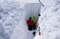Langzeitstudie am Sonnblick-Gletscher: deutlich weniger Luftschadstoffe in der Schneedecke