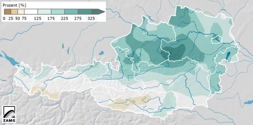Mai 2014: Kühl und stellenweise extrem nass