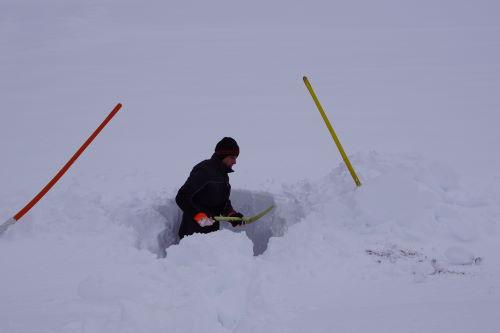 Schneemengen zur Winter-Halbzeit