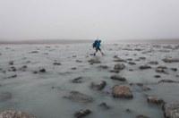 Spektakulärer Gletschersee-Ausbruch in Grönland