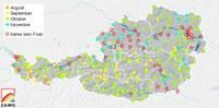 Teile Österreichs erstmals ohne Frost im Herbst