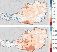 Temperaturinversionen sind seltener und schwächer geworden