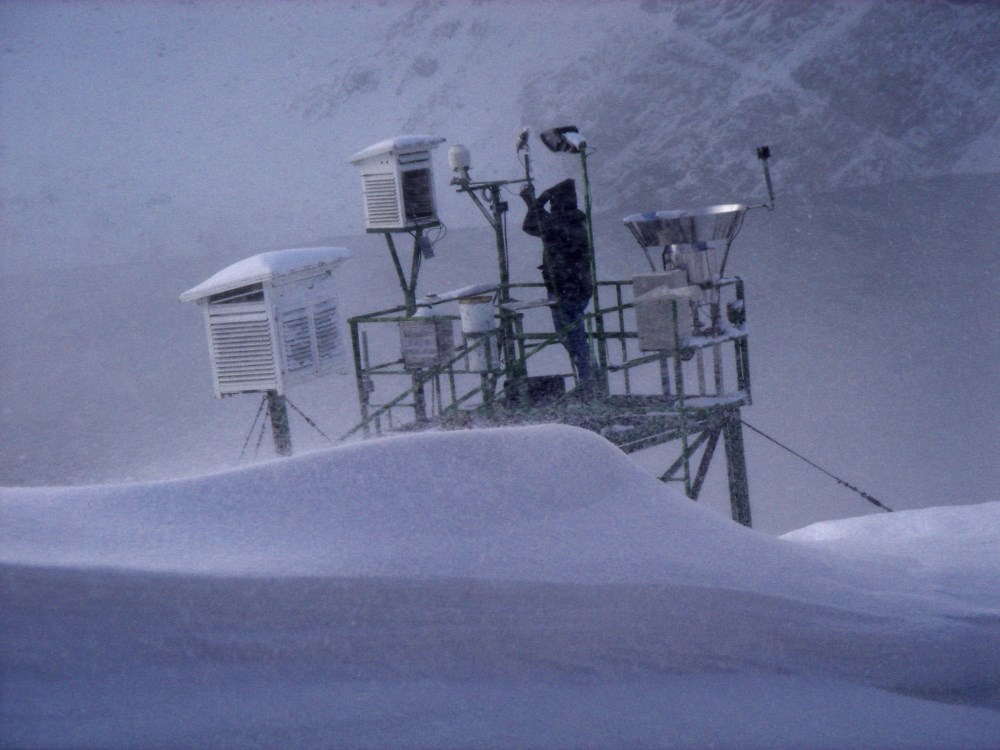 Weiss-Stiftung prämiert Projekt zur Verbesserung der Niederschlagsmessung im Gebirge