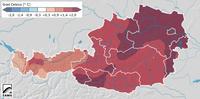 Winter 2014/2015: Mild und relativ wenig Schnee