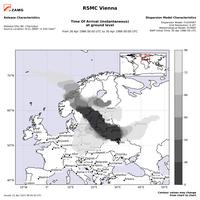 35 Jahre Tschernobyl: weltweite Vorhersage von Schadstoffwolken