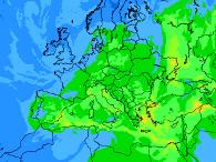 Europaweite Schadstoff-Vorhersagen