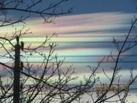 Farbenspiel an Wolken