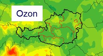 Ozonvorhersagen an der ZAMG