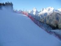 Gutes Wetter beim Schiweltcup in Hinterstoder