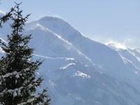 Im Bergland weiterhin winterlich