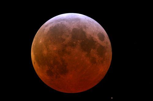 Längste Mondfinsternis des Jahrhunderts