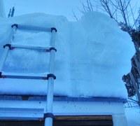 """Schneelast auf den Dächern vorerst im """"grünen Bereich"""""""