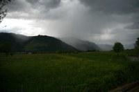 Sehr große Regenmengen im Westen Österreichs