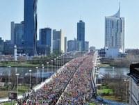 Sonnig und warm am Wiener Marathon-Wochenende
