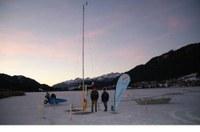 Weissensee: erstmals Wetterstation direkt am Eis